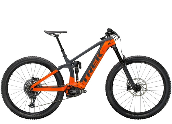 TREK - Rail 9.8 Anthrazit/Orange
