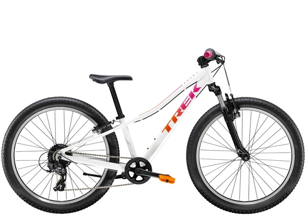 TREK - Precaliber 24 8-speed Suspension Girl's Weiss