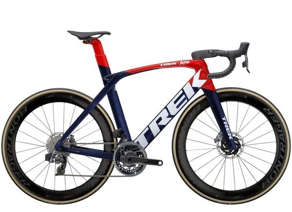 TREK - Madone SLR 9 eTap Blau/Rot