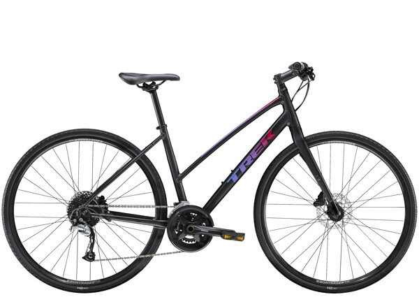 TREK - FX 3 Disc Women's Stagger Schwarz