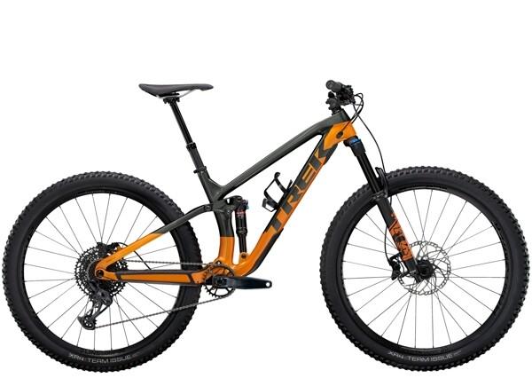 TREK - Fuel EX 9.7 Anthrazit/Orange