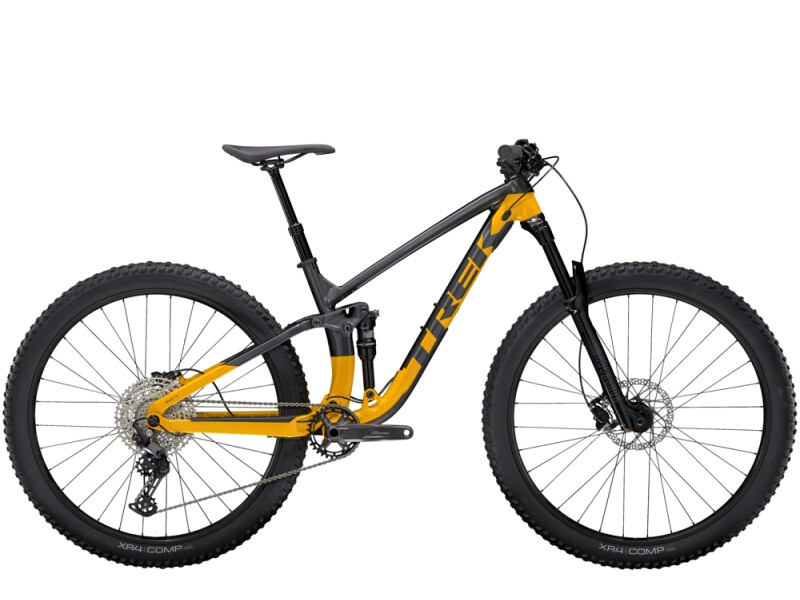 Trek Fuel EX 5 Anthrazit/Gelb