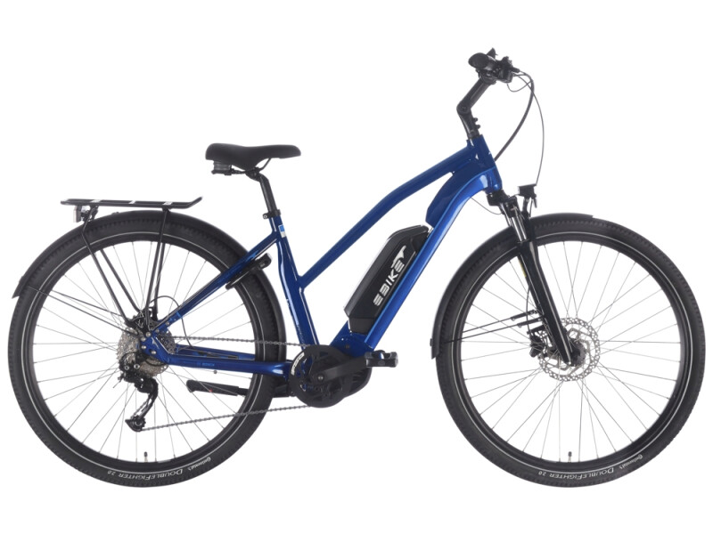 EBIKE.Das Original TREKKING Advanced Mixed blau
