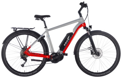 EBIKE.Das Original TREKKING Advanced Diamant silber