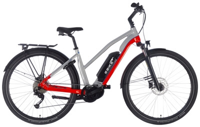 EBIKE.Das Original TREKKING Advanced Mixed silber