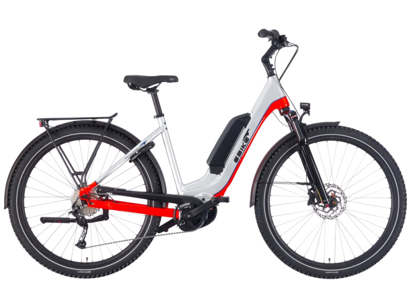 EBIKE.Das Original TREKKING Advanced Wave silber