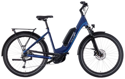 EBIKE.Das Original TREKKING Advanced Wave blau