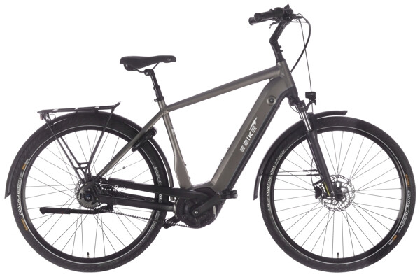 EBIKE.DAS ORIGINAL - TOUR Pro Diamant gold grau Gates