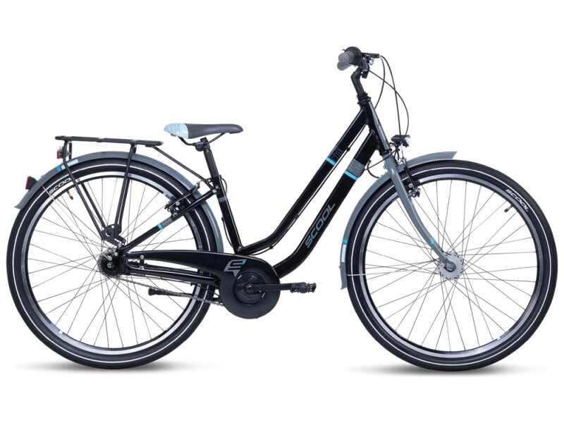 S´cool chiX twin alloy 26-7 black/blue