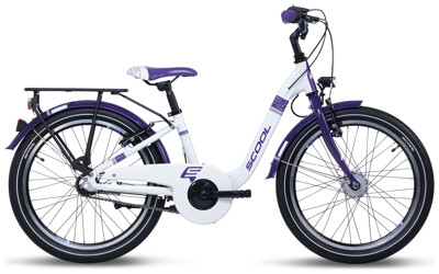 S´cool ChiX alloy 20-3 white/violet