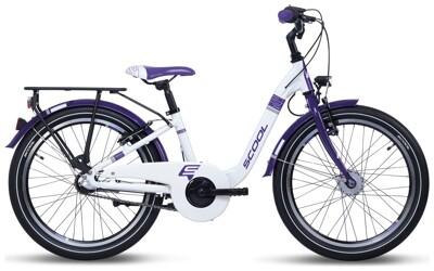 S´cool ChiX alloy 20-3 white/violet