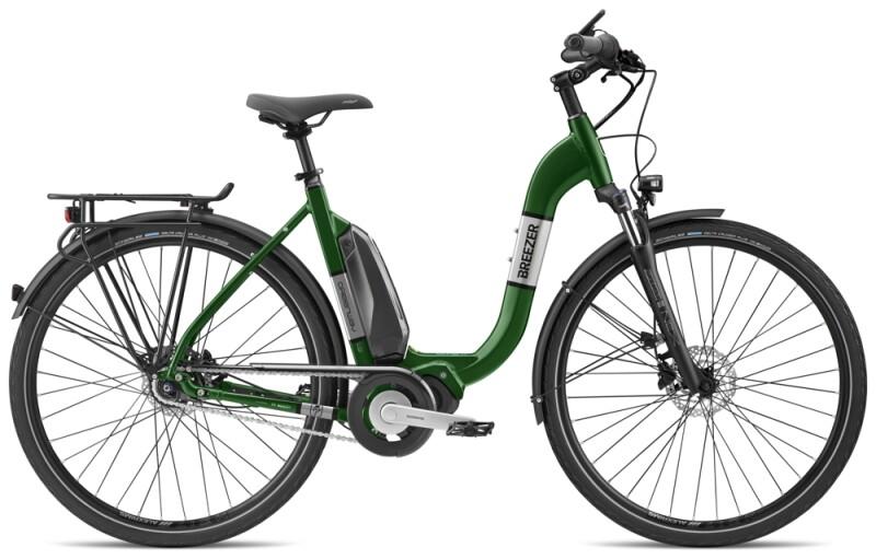 Breezer Bikes GREENWAY IG 1.3+ LS e-Citybike