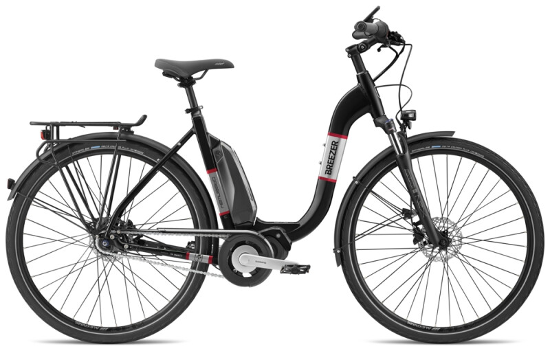 Breezer Bikes GREENWAY IG 1.1+ LS e-Citybike
