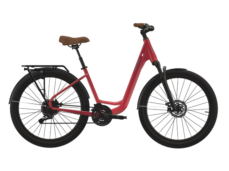 Cannondale Adventure EQ red
