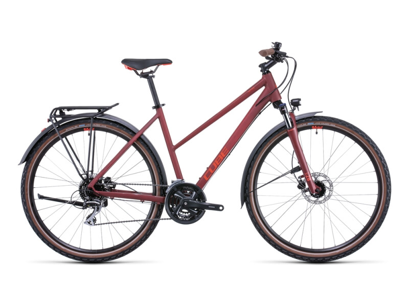 Cube Nature Allroad darkred´n´red
