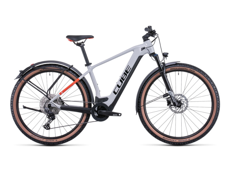 Cube Reaction Hybrid Pro 625 Allroad grey´n´red