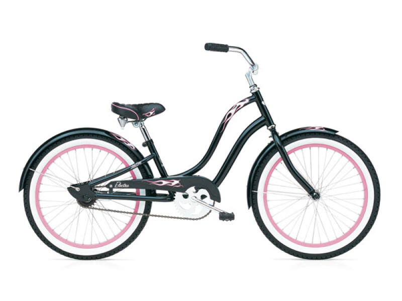 Electra Bicycle Black Betty Girls` 20