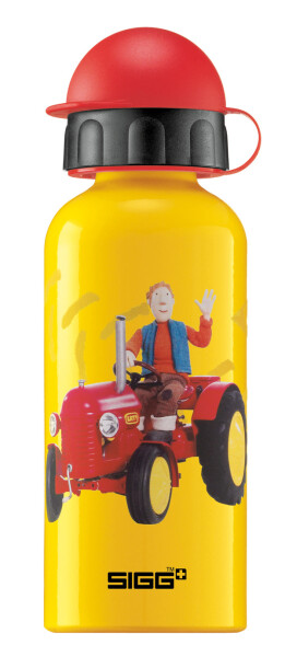 SIGG - Alu Kinder Trinkflasche Little Red Traktor