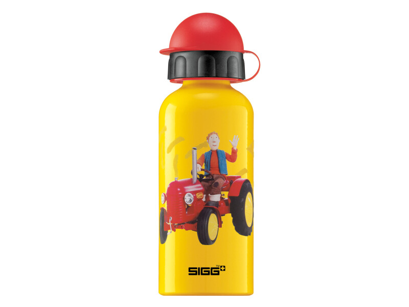 Sigg Alu Kinder Trinkflasche Little Red Traktor