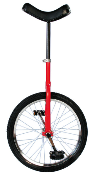 """TAQ 33 - Einrad 20"""" rot"""