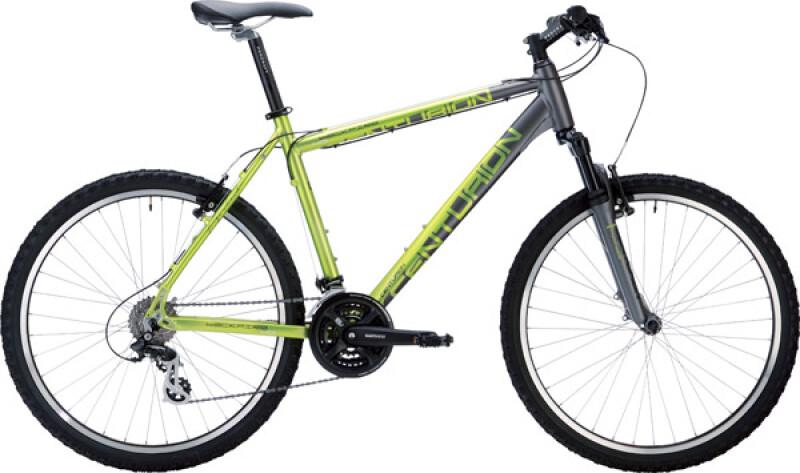 Centurion Backfire 40 grau / metallic grün Mountainbike