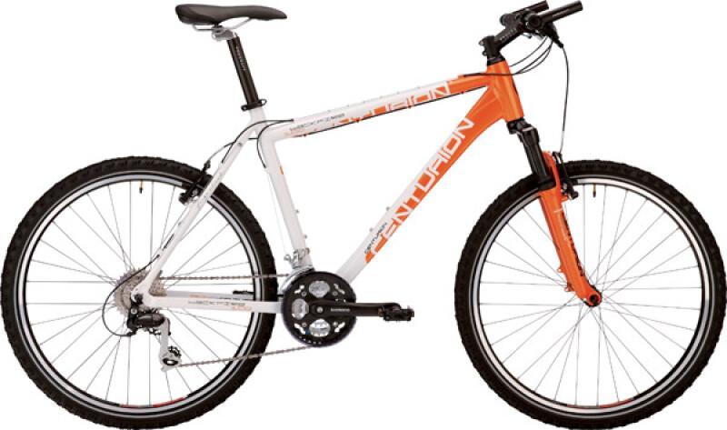 Centurion Backfire 100 metallic-orange / weiss Mountainbike