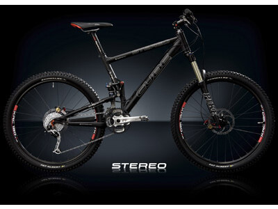 Cube Stereo XTR Black Anodized