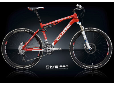 Cube AMS PRO K24 Racing Red