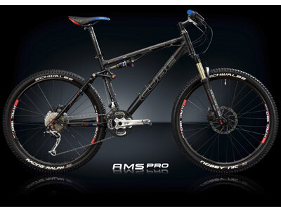 Cube AMS PRO LOUISE Black Anodized