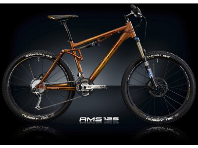 Cube AMS 125 XT Brown Anodized