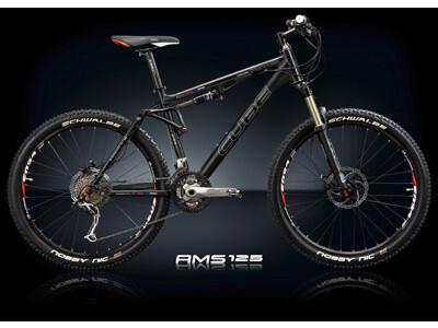 Cube AMS 125 XT Black Anodized