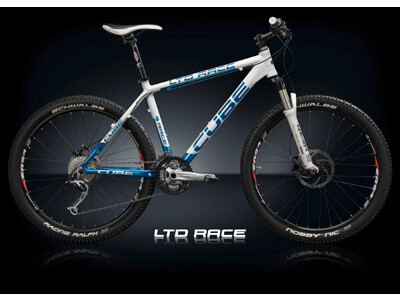 Cube LTD Race White Candy Blue