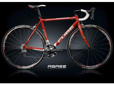 Cube Agree 3-Fach Racing Red