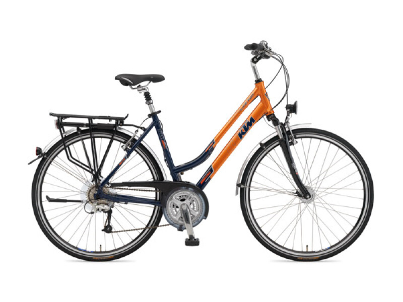 KTM Life Fun Damen-Comfort midnightblue / teamorange
