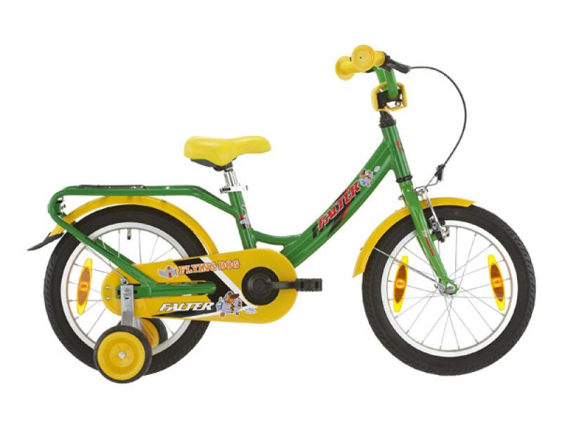 FALTER Kinderrad 16 Zoll grün/gelb