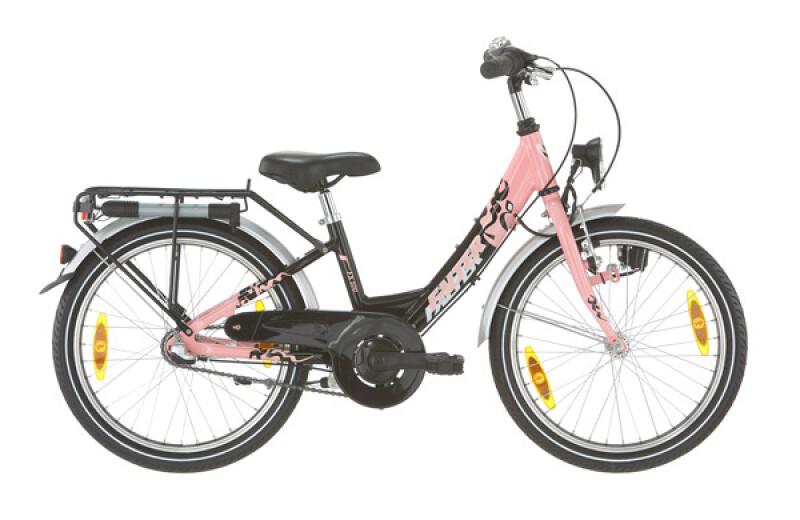 Falter FX 200 Wave-ATB schwarz/pink Kinder / Jugend