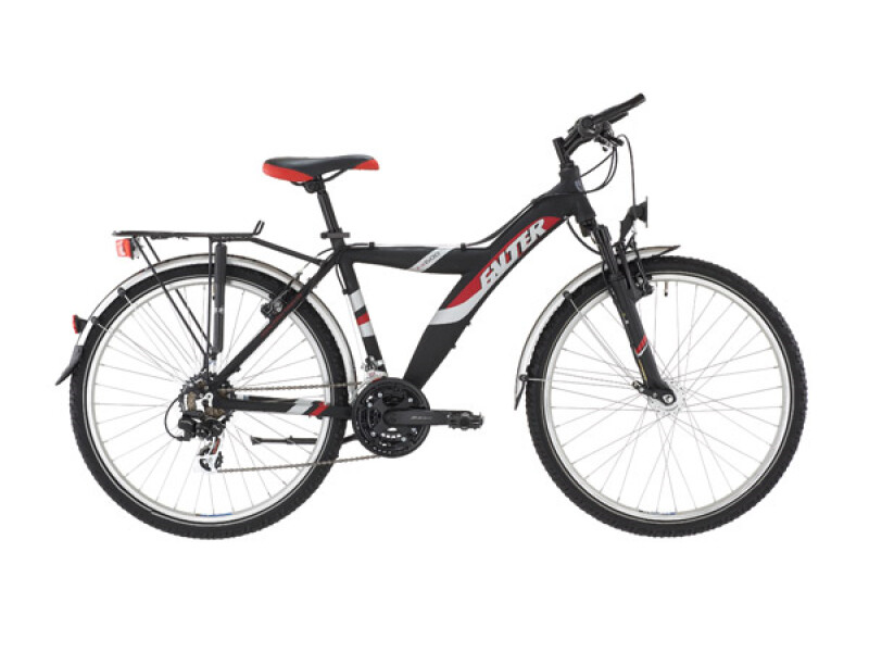 Falter FX 600 Y21 schwarz/rot matt