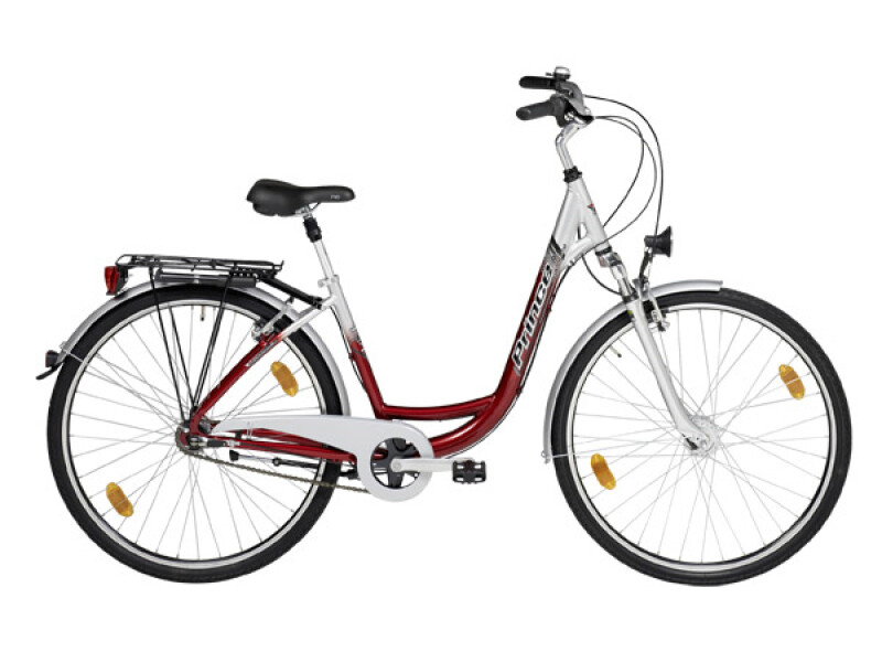 Prince City Cruiser Damen 3-Gang burgund