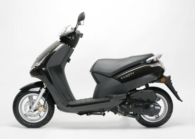 Peugeot Motocycles New Vivacity Motorfahrzeuge