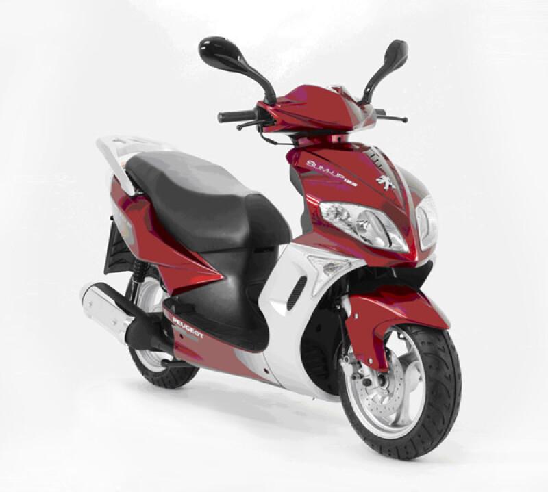 Peugeot Motocycles Sum UP Motorfahrzeuge