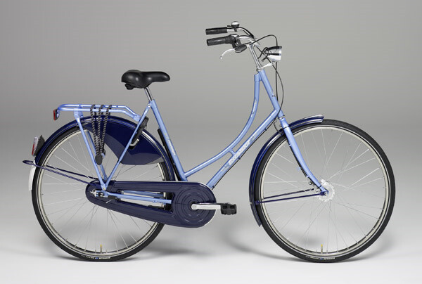 EXCELSIOR - Nostalgie Luxus ND, Damen, 28-Zoll, blau