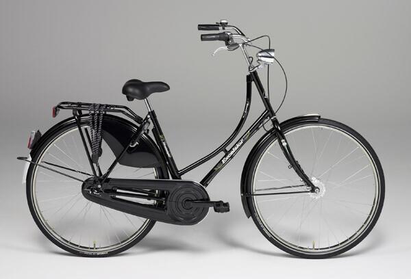 EXCELSIOR - Nostalgie Luxus ND, Damen, 28-Zoll, schwarz