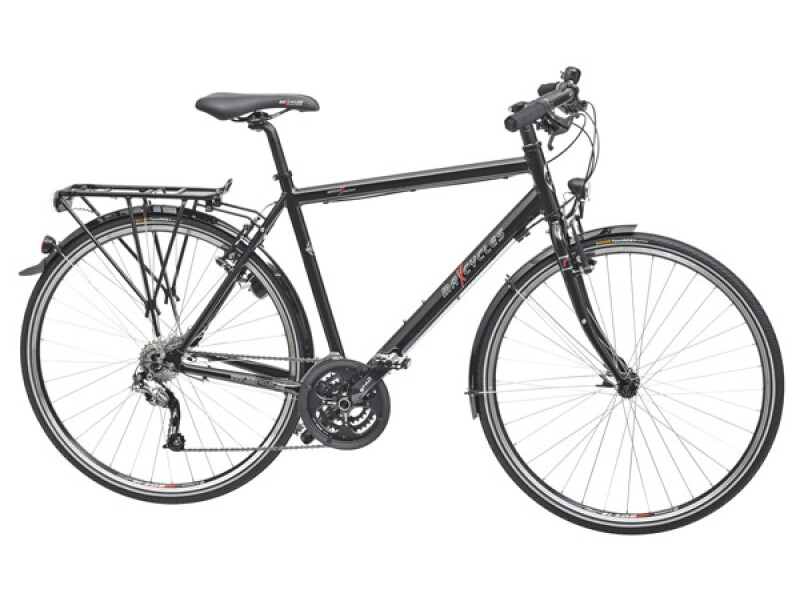 Maxcycles Town Lite Shine black