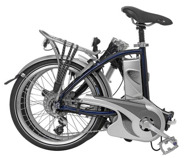 FLYER - Faltrad, zusammengefaltet