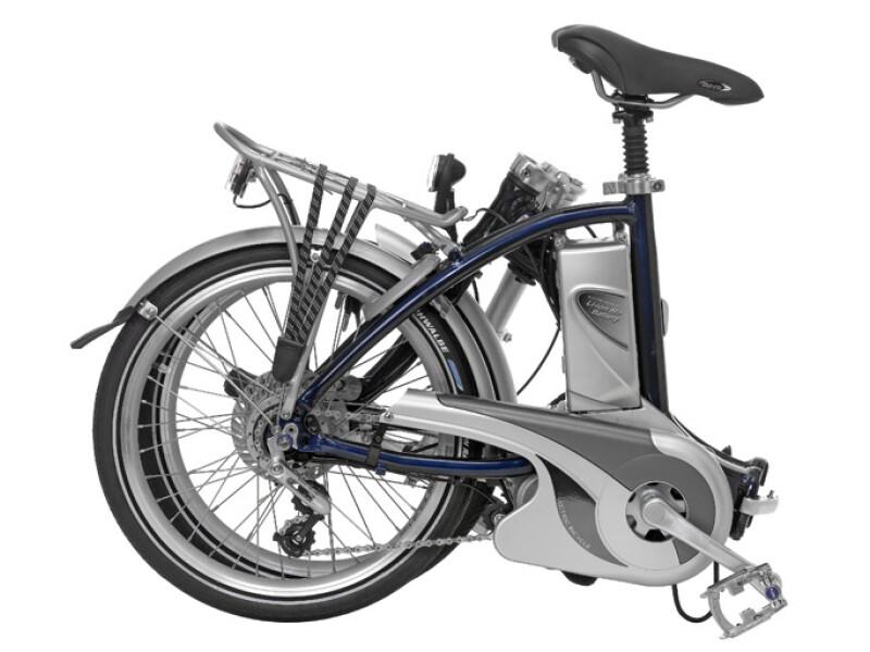 FLYER Faltrad, zusammengefaltet