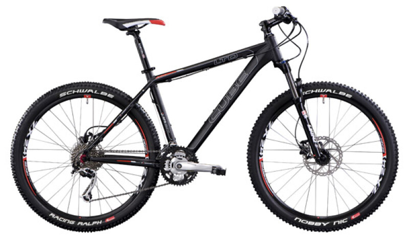 Cube LTD Comp Black Mountainbike