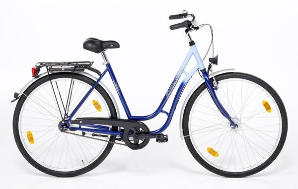 """EXCELSIOR - 28"""" Touring 3-Gang Damen blau"""