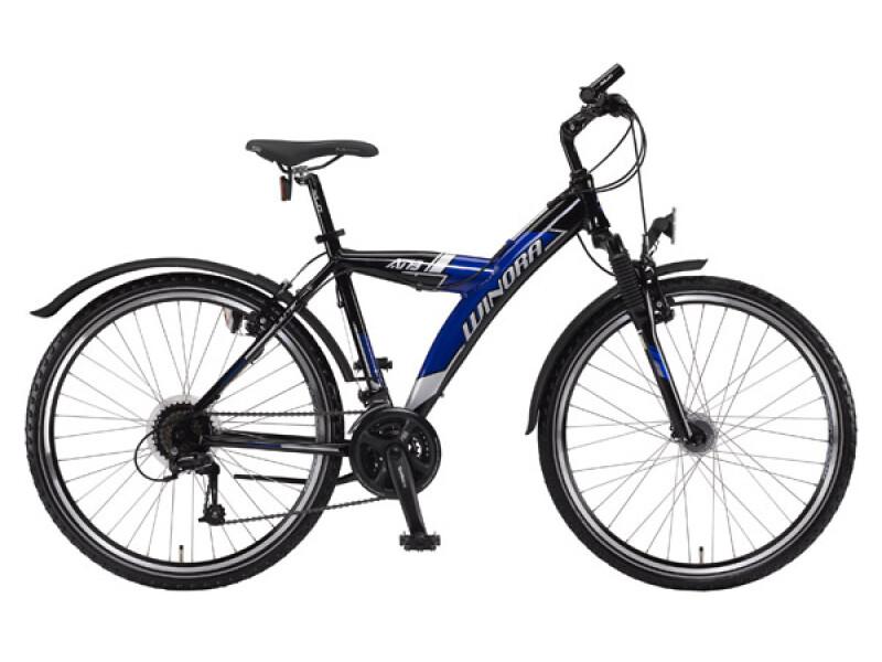 Winora Blaster schwarz-blau