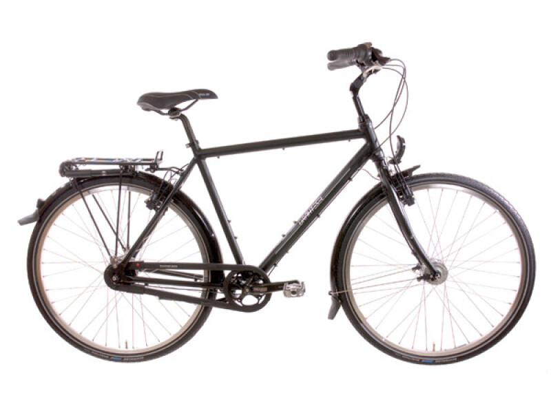 Drahtesel Stadtrad Classic Plus Herren schwarz