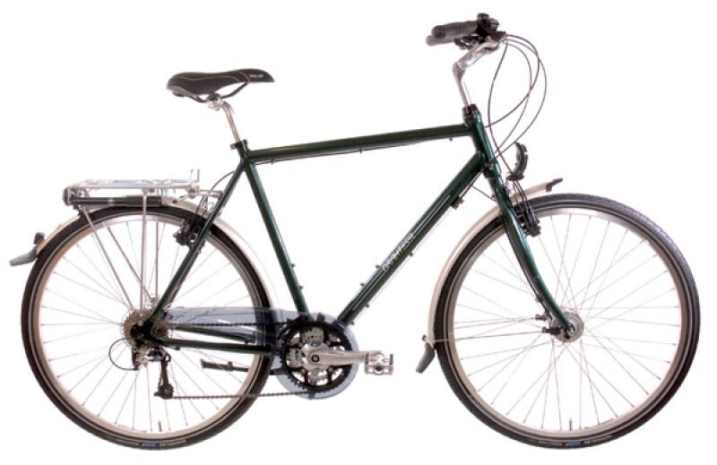 Drahtesel Stadtrad Classic Tour Herren grün